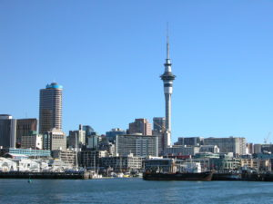 Auckland from he Harbour