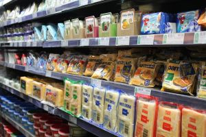 Supermarket Chiller with various products